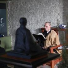 Myoken mester előadása Zeisler mesterről és a zazenről