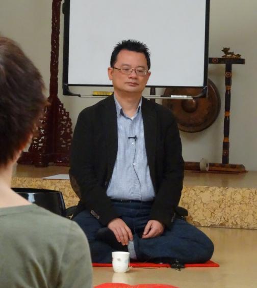 Cuong Lu zen tanító látogatása (2016.02.16.)