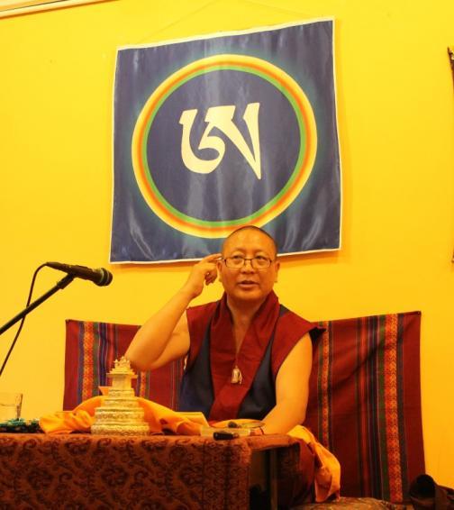 Khenpo Gelek tanítása (2016.05.14.)