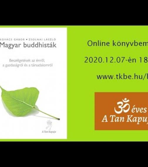 Magyar buddhisták online könyvbemutató