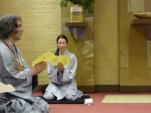 Intenzív zen buddhista gyakorlás