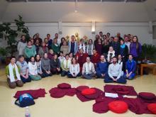 A-tri Dzogcsen tanítás Choekhortshang Rinpocsétől
