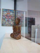Buddhista beszélgetések a könyvtárban – Tóth Zsuzsannával
