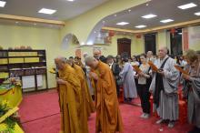 Vietnámi és magyar buddhisták ünnepeltek együtt