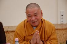 A Vietnami Buddhista Egyház küldöttsége A Tan Kapuján