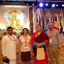 Buddhista csúcstalálkozón vett részt A Tan Kapuja