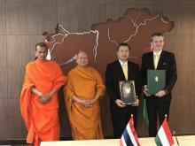 Államok közötti megállapodásban vett részt A Tan Kapuja