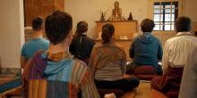 Buddhista meditációs hétvége Bajnán