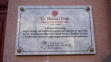 Dr. Hetényi Ernőre emlékezik A Tan Kapuja Buddhista Egyház
