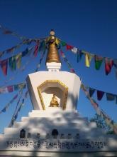 Gyógyító Buddha Sztúpa (Biri)