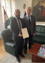Átvette megbízólevelét főiskolánk új rektora