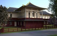 Megújul A Tan Kapuja Buddhista Egyház és Főiskola épülete