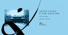 Hétfő esték A Tan Kapuján - online előadássorozat