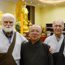 Vietnámi buddhista közösséghez látogatott az egyház küldöttsége